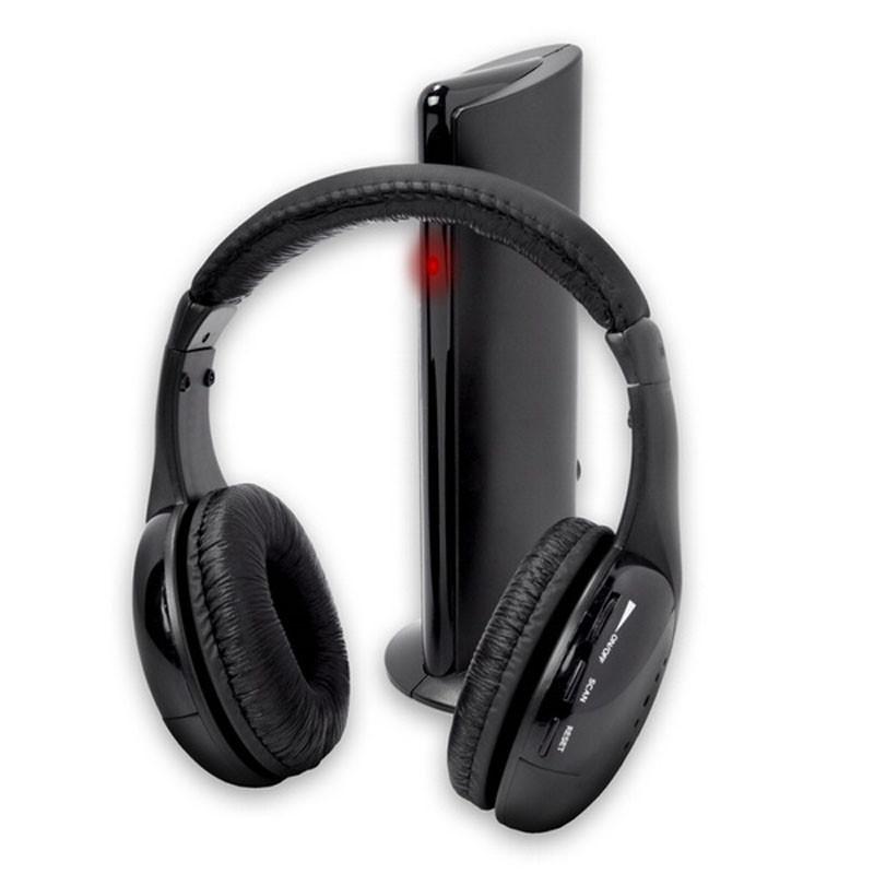 Bezdrátová sluchátka 5in1 s dokovací stanicí