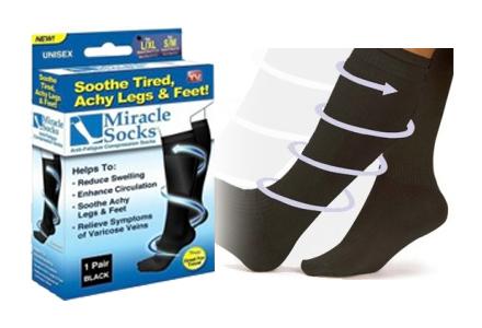 Kompresní zdravotní ponožky MIRACLE SOCKS